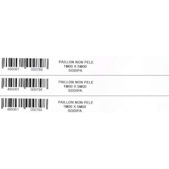 20x200mm PE fehér nagy faiskolai címke