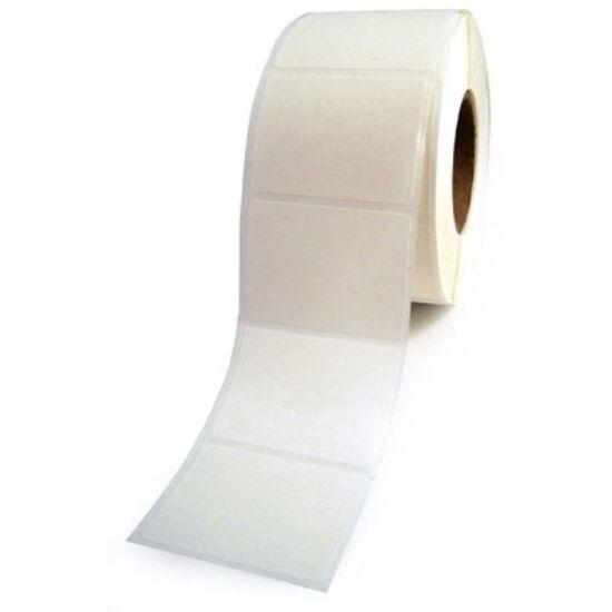 59,9x90mm PET white címke