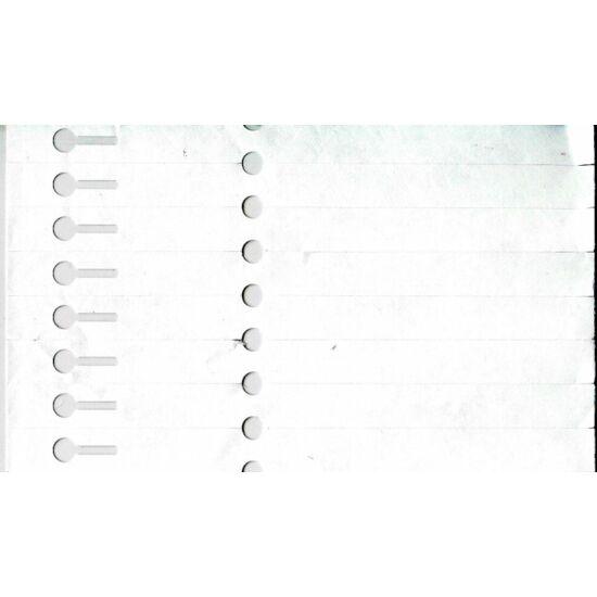 12,7x160mm kis önrögzítős faiskolai címke - tyvek