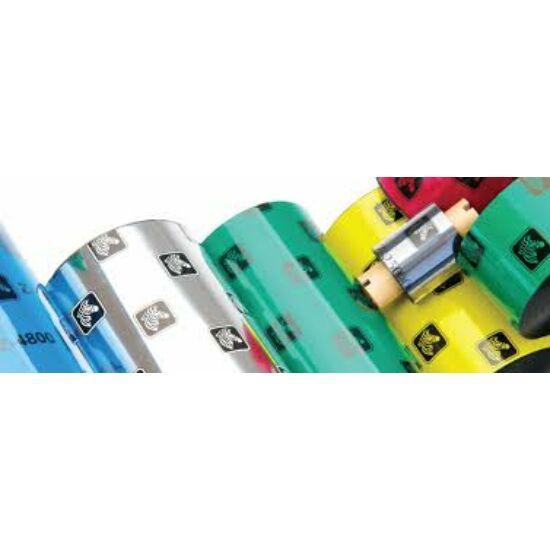 Zebra 5095 High Performance Resin festékszalag 110mm x 450m - közepes és ipari címkenyomtatókhoz - OUTLET