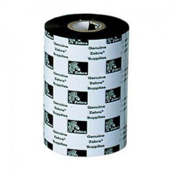 Zebra 3200 Wax/Resin festékszalag 110mm x 300m - GT800 címkenyomtatóhoz