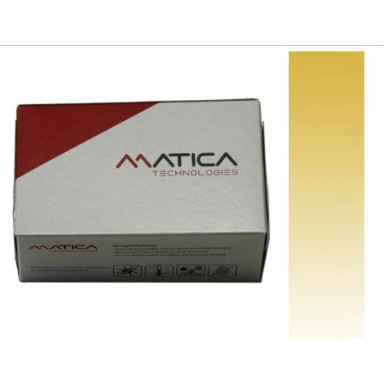 Monochrome Gold Metallic (MOQ: 10 ribbons)