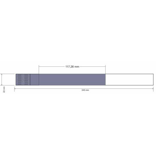 Mag ICS karszalag - szintetikus papír - LILA