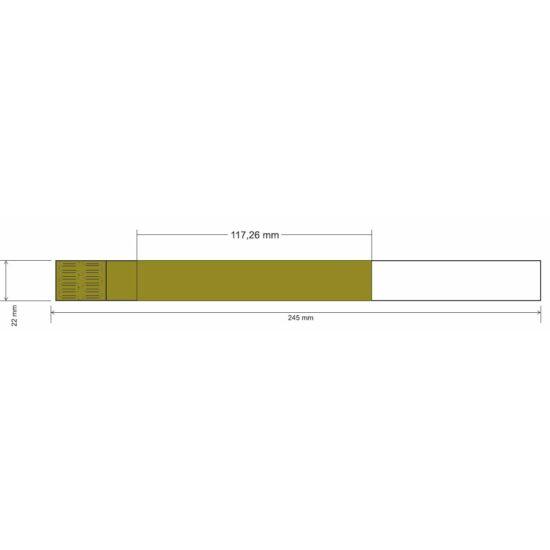 Mag ICS karszalag - szintetikus papír - OLIVA