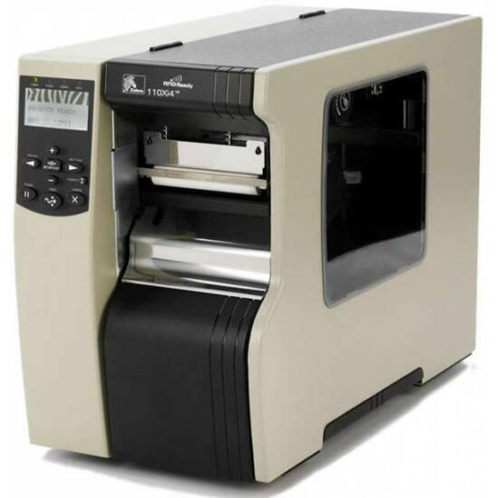 Zebra 110Xi4 ipari RFID TT vonalkód nyomtató - 203 dpi