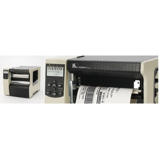 Zebra 220Xi4 ipari TT vonalkód nyomtató - 300 dpi
