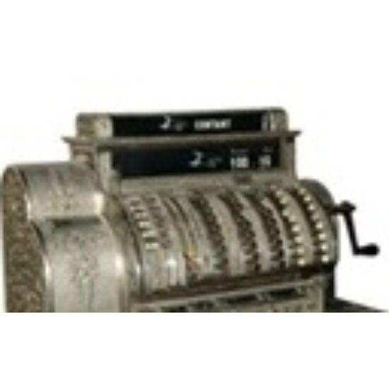 53x40mmThermo ECO címke, kétpályás